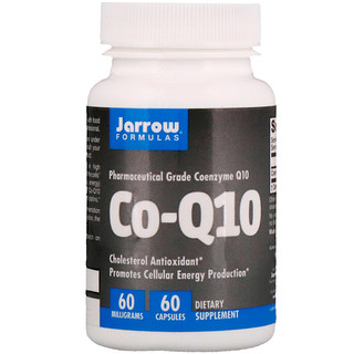 Jarrow Formulas, Co-Q10, 60 mg, 60 Capsules