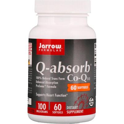 Q-absorb Co-Q10, 100мг, 60мягких таблеток