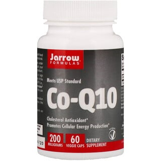 Jarrow Formulas, Co-Q10, 200 mg, 60 Capsules