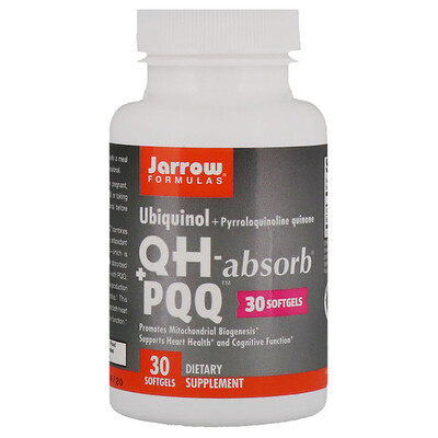 Купить Ubiquinol, QH-Absorb + PQQ, 30 Softgels