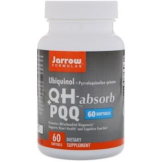 Jarrow Formulas, Ubiquinol, QH+ PQQ Absorb, 60 Softgels
