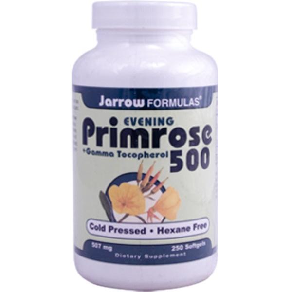Jarrow Formulas, Primrose 500 + Gamma Tocopherol, 507 mg, 250 Softgels (Discontinued Item)