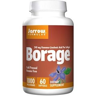 Jarrow Formulas, Borage GLA-240, 60 cápsulas blandas