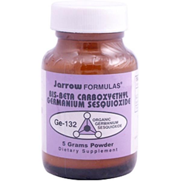 Jarrow Formulas, Bis-Beta Carboxyethyl Germanium Sesquioxide GE-132, 5 g Powder (Discontinued Item)