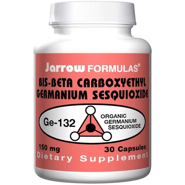 Jarrow Formulas, Bis-Beta Carboxyethyl Sesquioxide, 150 mg, 30 Capsules (Discontinued Item)