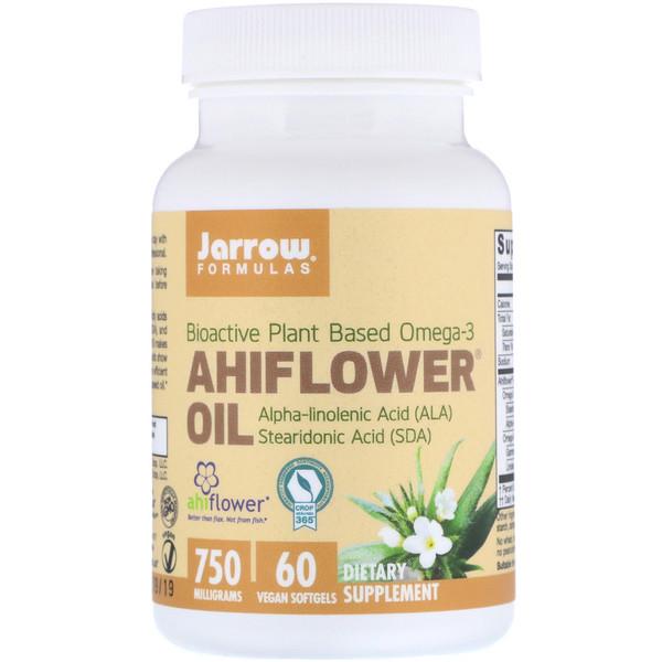 Ahiflower Oil, 60 Vegan Softgels