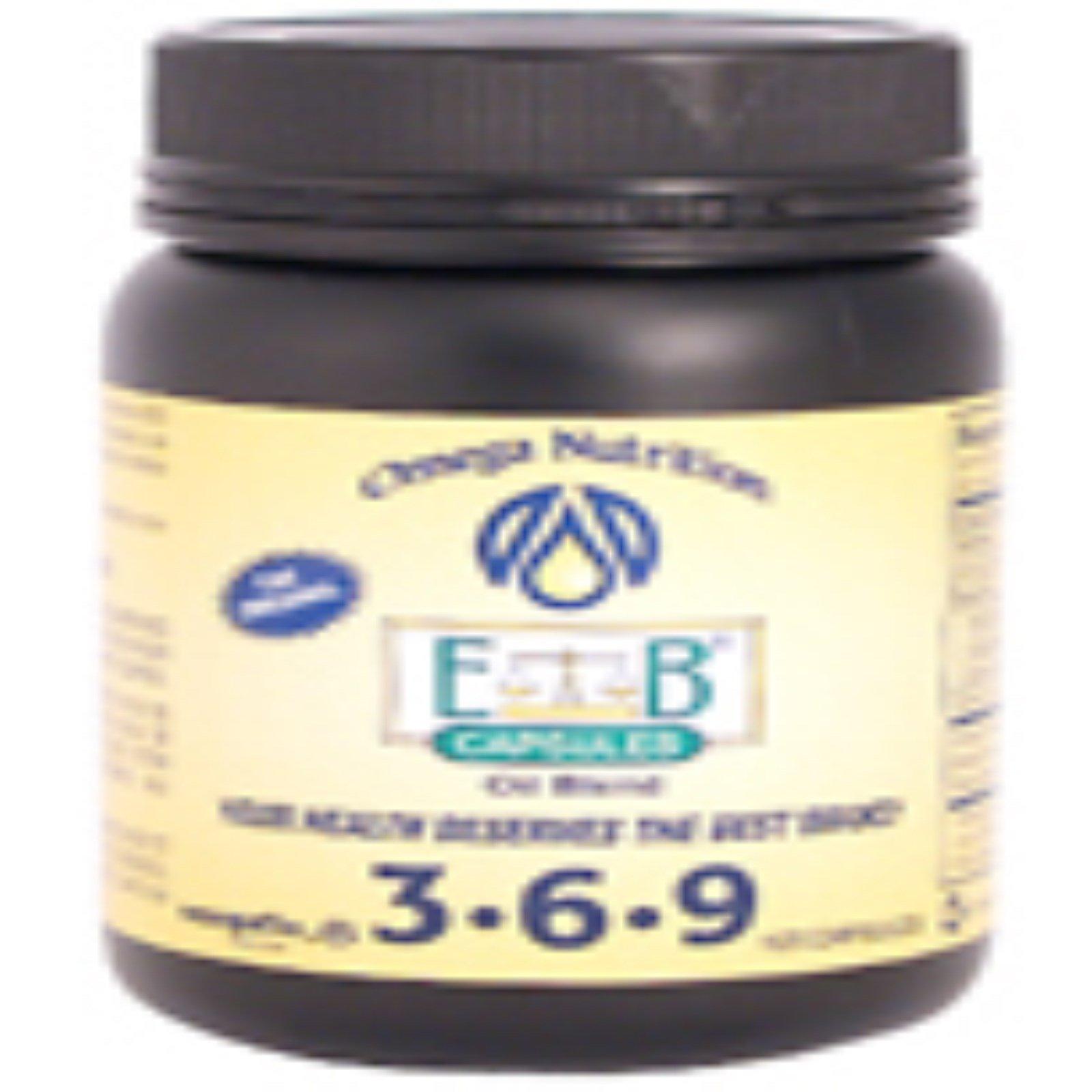 Jarrow Formulas Omega Nutrition 3 6 9 Essential Balance Oil