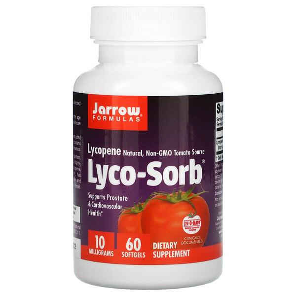 Jarrow Formulas, ليكوبين Lyco-Sorb، 10 ملجم، 60 كبسولة هلامية