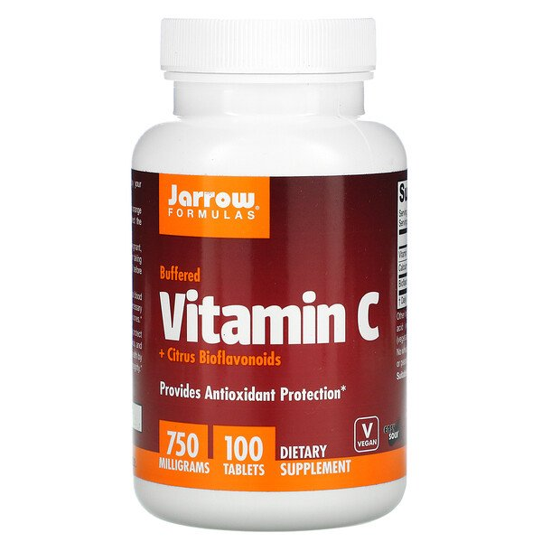 Jarrow Formulas, Vitamin C, 750 mg, 100  Tabletten