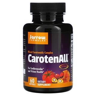 Jarrow Formulas, CarotenALL, mezcla de complejo de carotenoides, 60 cápsulas de gel