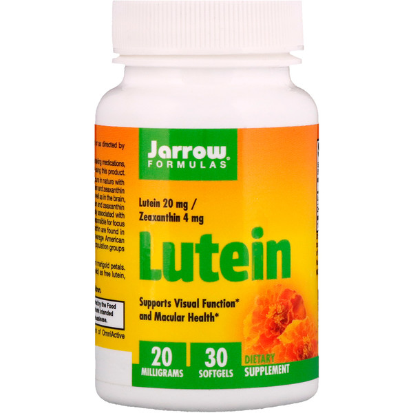 Lutein, 20 mg, 30 Softgels
