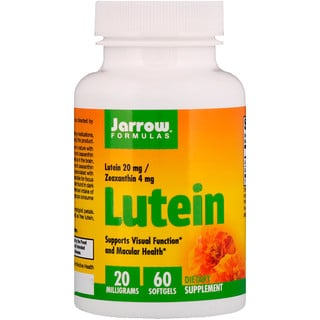 Jarrow Formulas, Luteína, 20 mg, 60 Softgels