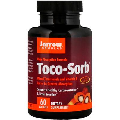 Toco-Sorb, смесь токотриенолов и витаминаЕ, 60мягких таблеток смесь глицерина и витамина е для лица
