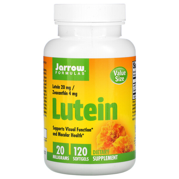Lutein, 20 mg, 120 Softgels