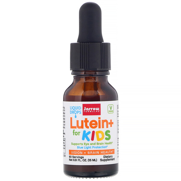 Jarrow Formulas, Lutein+ for Kids,  0.51 fl oz (15 ml)