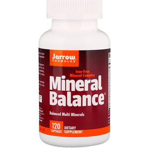 джэрроу формулас, Mineral Balance, 120 Capsules отзывы покупателей