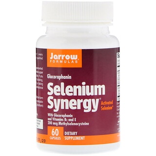 Jarrow Formulas, Selenium Synergy, 60 Capsules