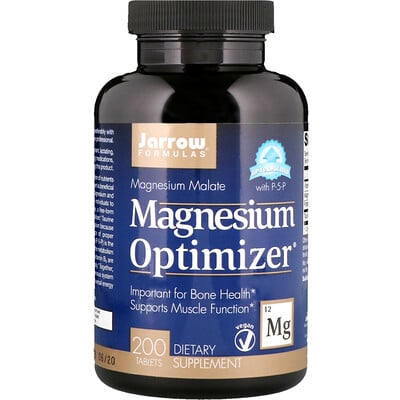 Jarrow Formulas Magnesium Optimizer, 200 таблеток