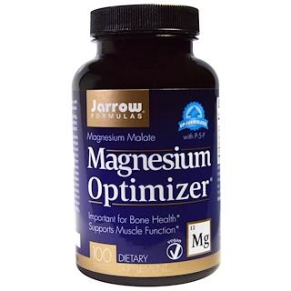 Jarrow Formulas, Magnesium Optimizer, 100 Tablets