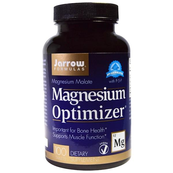 Jarrow Formulas, Magnesium Optimizer, 100 tabletas