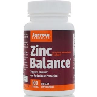 Jarrow Formulas, Zinc Balance, 100 캡슐