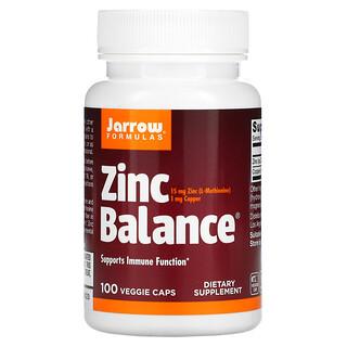 Jarrow Formulas, Zinc Balance, 100 Veggie Caps