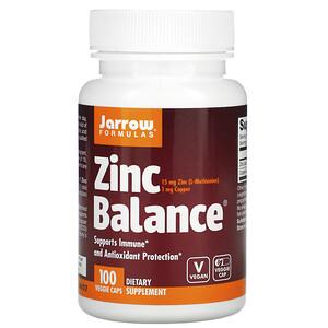 джэрроу формулас, Zinc Balance, 100 Veggie Caps отзывы покупателей