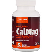 CalMag, Citrates/Malates, 90 Tablets - фото