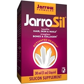 Jarrow Formulas, JarroSil, Activated Silicon, Liquid, 1 oz (30 ml)