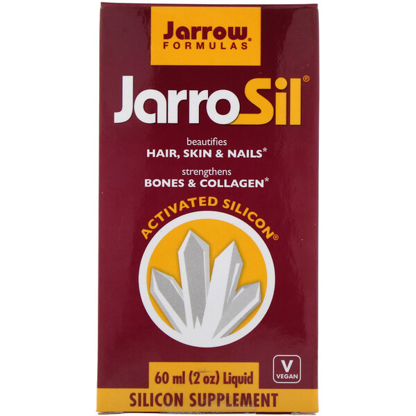 JarroSil, Activated Silicon, Liquid, 2 oz (60 ml)