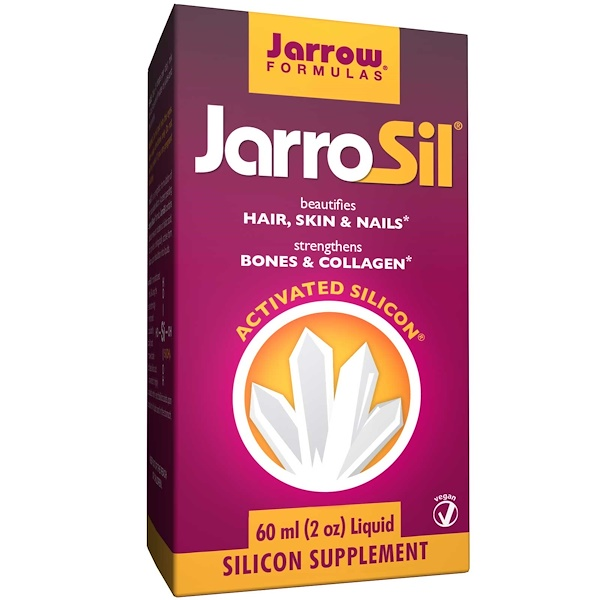 Jarrow Formulas, JarroSil, Activated Silicon, Liquid, 2 oz (60 ml)