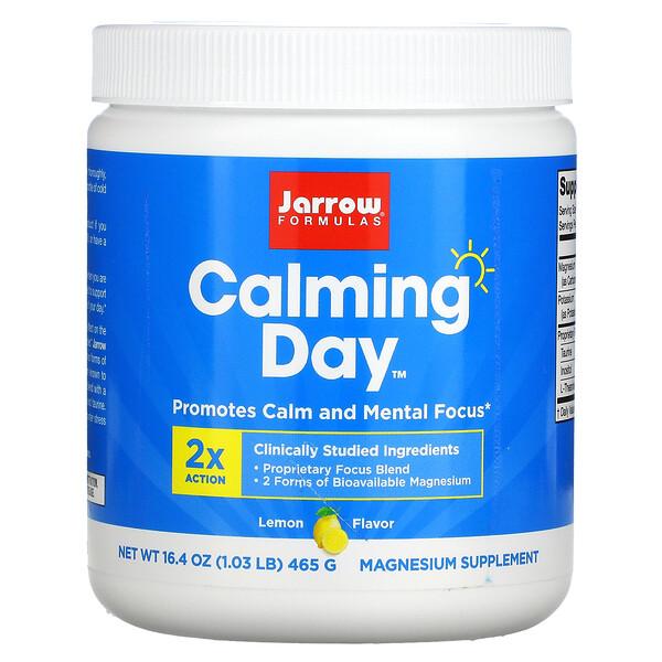 Jarrow Formulas, Calming Day, Lemon, 16.4 oz ( 465 g)