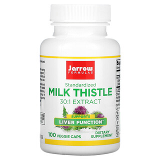 Jarrow Formulas, Standardized Milk Thistle, 150 mg, 100 Veggie Caps