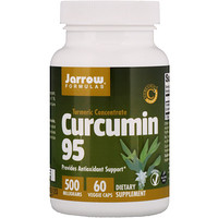 Куркумин 95, 500 мг, 60 вегетарианских капсул - фото