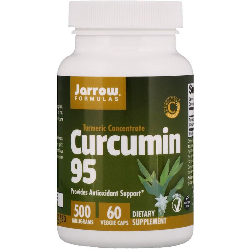 Curcumin 95, 500 mg, 60 Veggie Caps