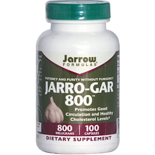Jarrow Formulas, Jarro-Gar 800, 800 mg, 100 Capsules (Discontinued Item)