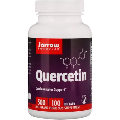 Jarrow Formulas Кверцетин, 500 мг, 100 овощных капсул