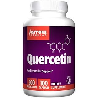 Jarrow Formulas, クエルセチン, 500 mg, 100 ベジカプセル