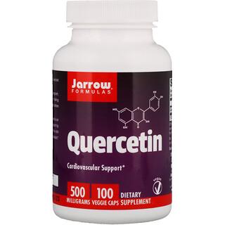 Jarrow Formulas, Кверцетин, 500 мг, 100 овощных капсул
