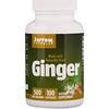 Jarrow Formulas, Ginger, 500 mg, 100 Capsules