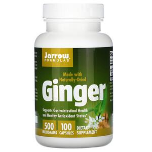 джэрроу формулас, Ginger, 500 mg, 100 Capsules отзывы покупателей