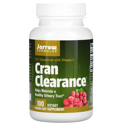 Jarrow Formulas Cran Clearance, концентрат клюквы, 100вегетарианских капсул