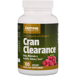 Jarrow Formulas, Cran Clearance, 100 Veggie Caps
