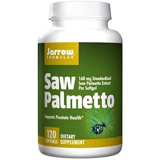 Jarrow Formulas, Saw Palmetto, 160 mg 120 Softgels