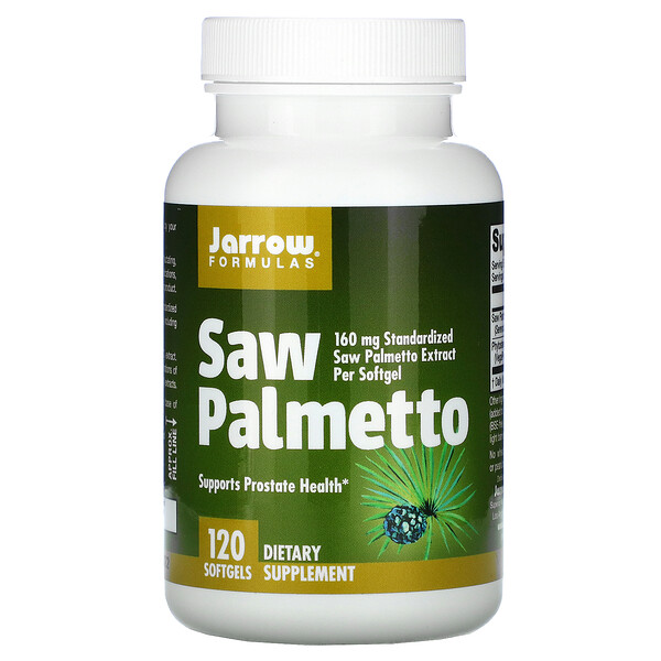 Saw Palmetto, 160 mg, 120 Softgels