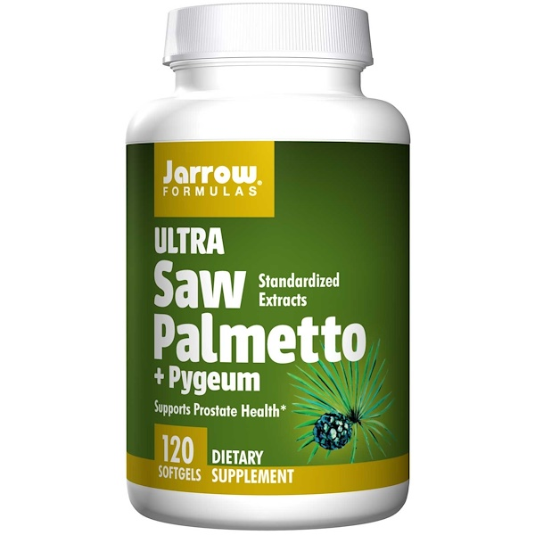 Jarrow Formulas, Ultra Saw Palmetto + Pygeum, 120 Softgels (Discontinued Item)