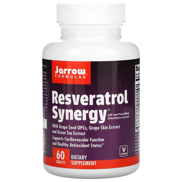 Resveratrol Synergy, 60 Tablets