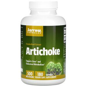 джэрроу формулас, Artichoke, 500 mg, 180 Veggie Caps отзывы покупателей