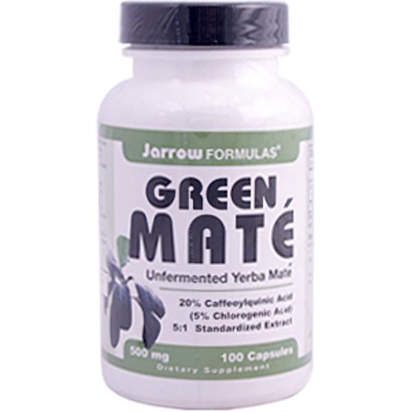 Jarrow Formulas, Green Mate, 500 mg, 100 Capsules (Discontinued Item)