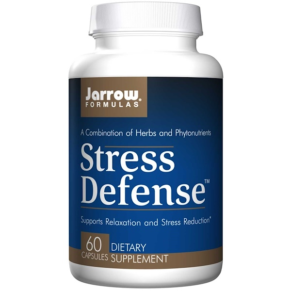 Jarrow Formulas, Stress Defense, 60 Capsules (Discontinued Item)
